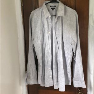 Men's Express long sleeve button down